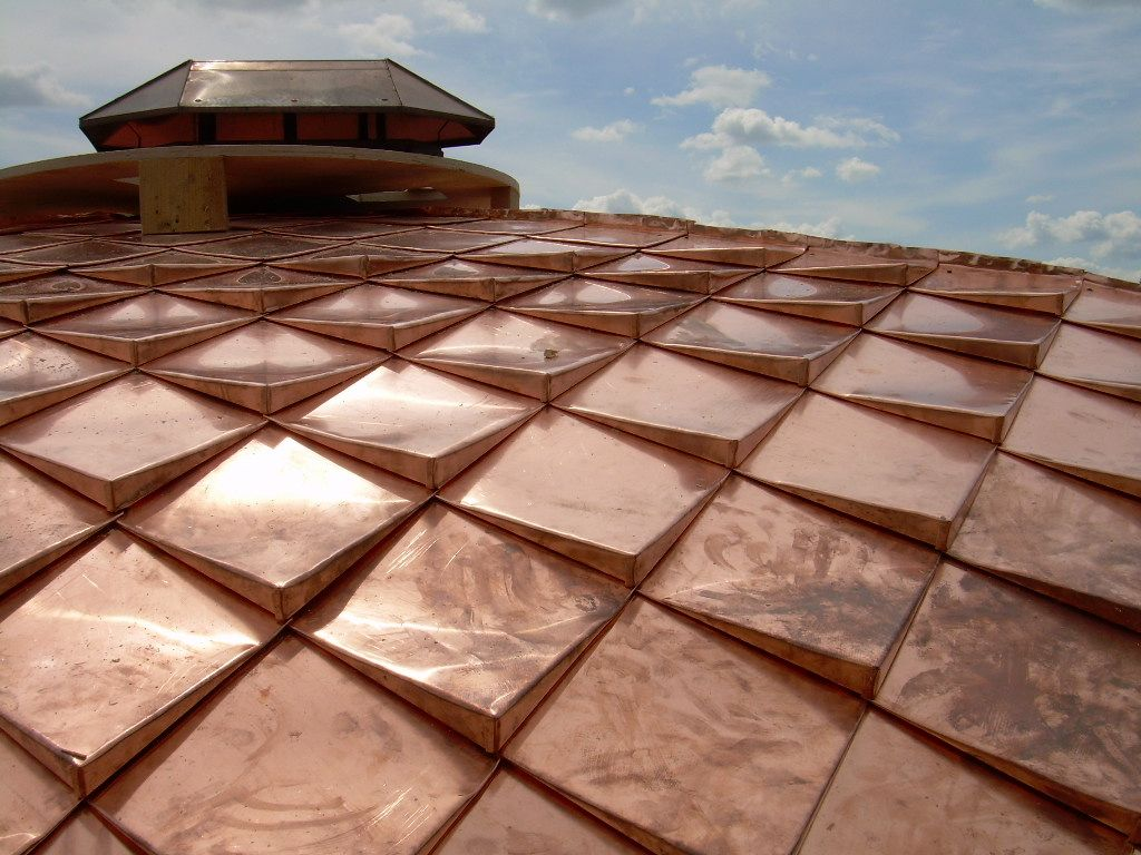 Copper Roofs Are Resistant To All Atmospheric Conditions. Many Historic Copper  Roofs Have Survived For Over 700 Years Thanks To Patina Formation That ...