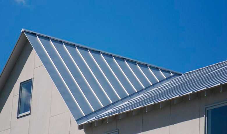 Roofing From Galvanized Steel